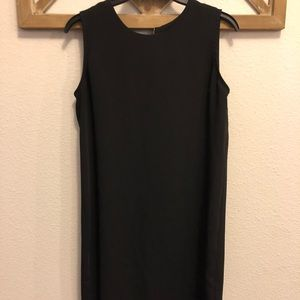 Adrienne Vittadini Black Shift Dress